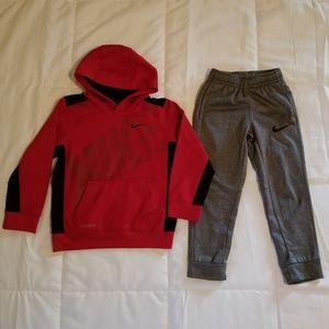 Nike Hoodie and Jogging Pants Bundle